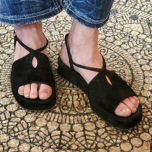 Stephane Kelian Shoes - Stephane Kelian Black Sandal